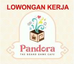 Lowongan Kerja Pandora The Board Game Cafe Makassar