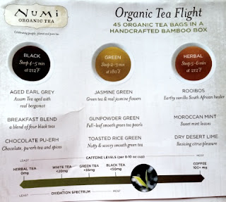 numi tea by mood chart