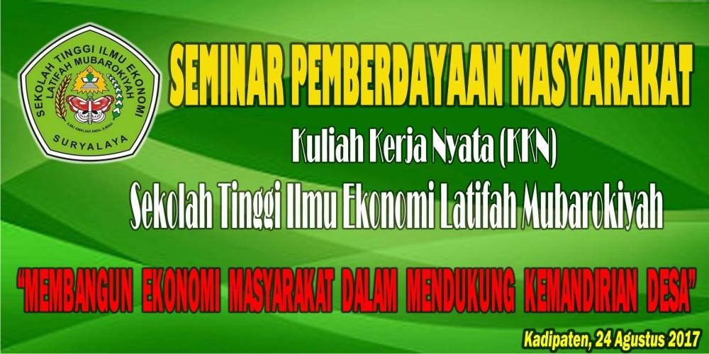 Download Contoh Spanduk Seminar Desa KKN.cdr - KARYAKU