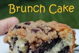 Blueberry & Cinnamon Streusel Brunch Cake