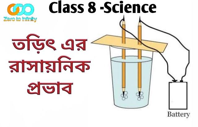 Education | Class 8 | তড়িৎ এর রাসায়নিক প্রভাব