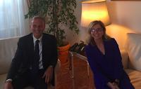 Incontro Nissoli - Sabbatucci: finalmente più risorse umane per l'Ambasciata italiana  a Santo Domingo