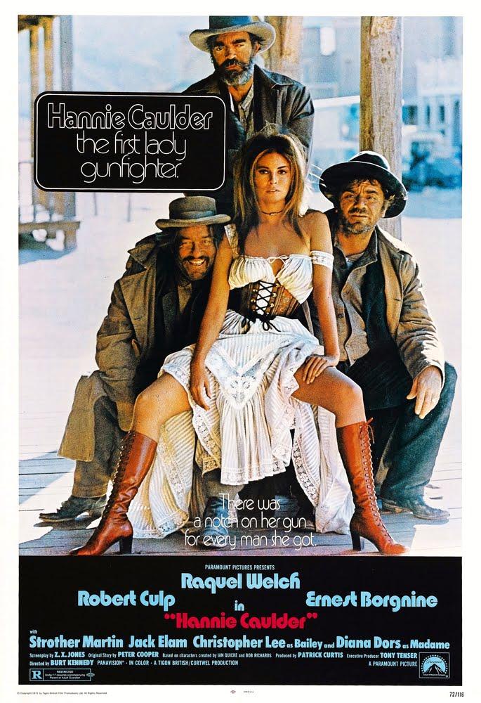 Raquel Welch in Hannie Caulder (1971) จังโก้สาว อีสาวปืนดุ