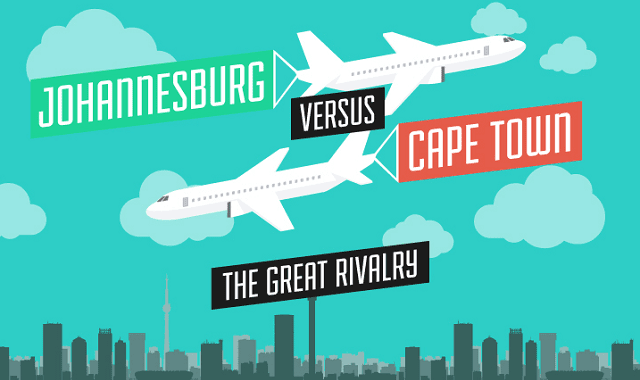 Johannesburg versus Cape Town: the great rivalry