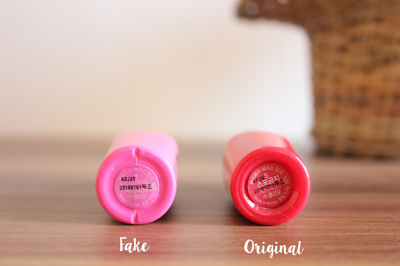 HaloTerong: How to Spot Fake Peripera Peri's Ink Lip Tint