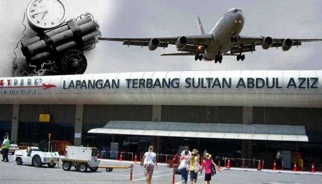 Pesawat Patah Balik Ke Subang Kerana Ancaman Bom Palsu
