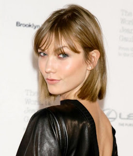 model-rambut-bob-karlie-kloss