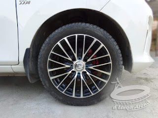 Toyota Calya Pakai Velg R15
