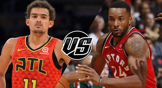 Live Streaming List: Atlanta Hawks vs Toronto Raptors 2018-2019 NBA Season