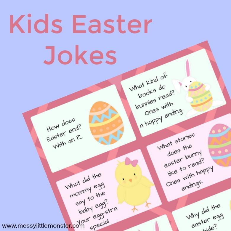 Kids easter jokes messy little monster easter jokes for kids stopboris Choice Image