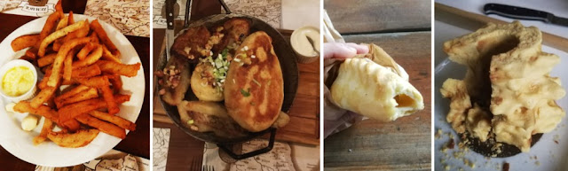 Litauen kulinarisch - Collage litauische Gerichte