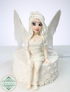 angel en fondant