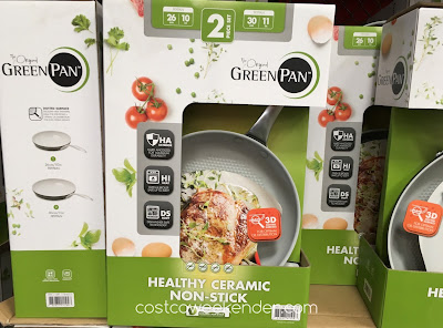 Make some stir fry or an awesome omelette with the Green Pan Healthy Ceramic Non-Stick Skillets