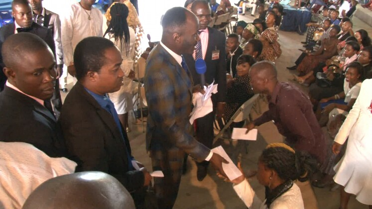 Apostle Suleman has done it again! This time with Corpers
