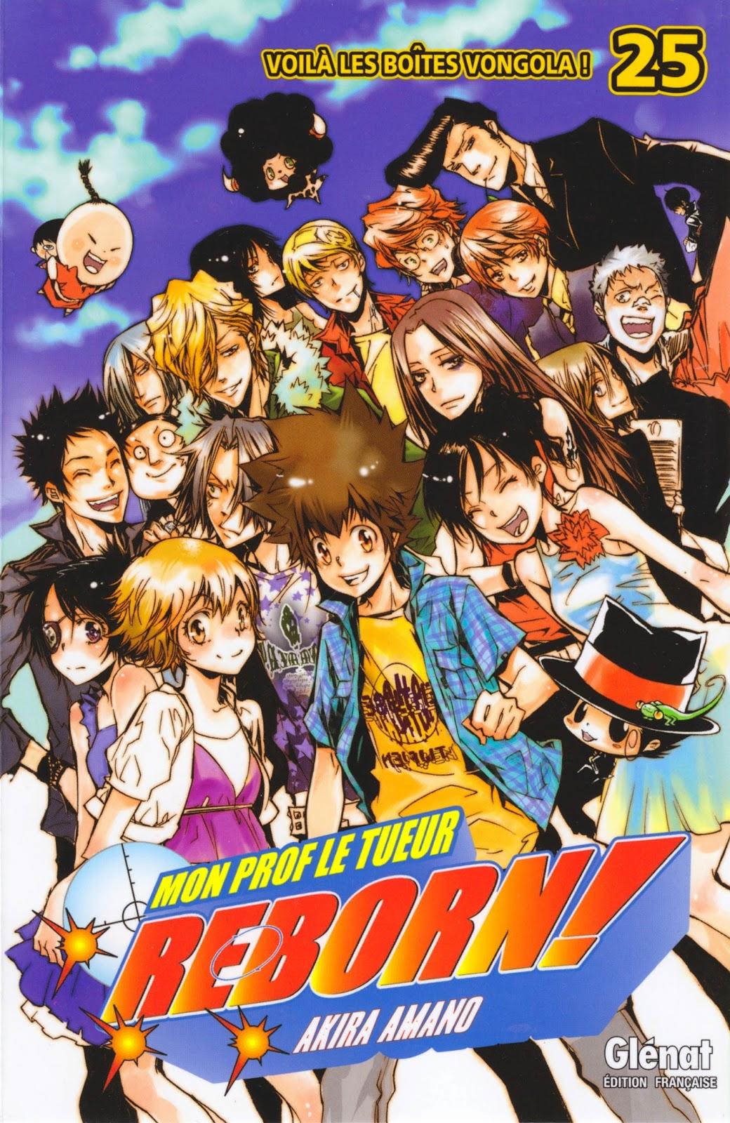 Stefan S Reviews Katekyo Hitman Reborn Manga Review