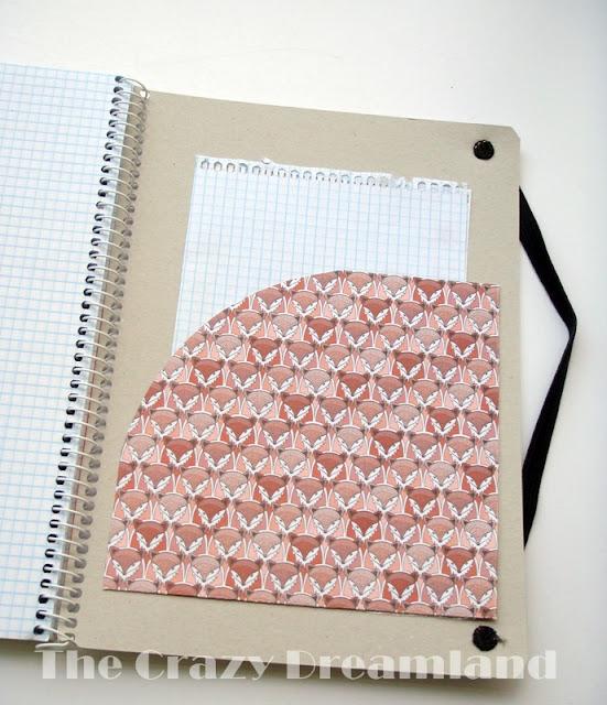 bolsillo interior cuaderno