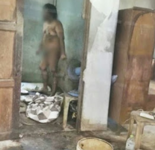 Photos: Woman locks her brother in a filthy room of an abandoned house for 15 years