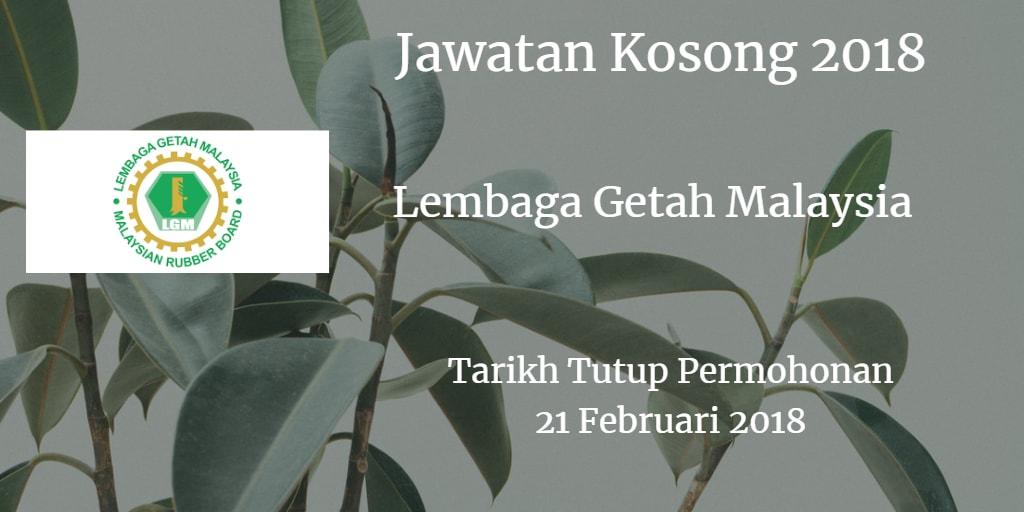 Jawatan Kosong LGM 21 Februari 2018