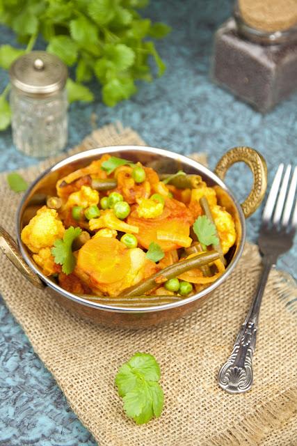 curry z warzyw