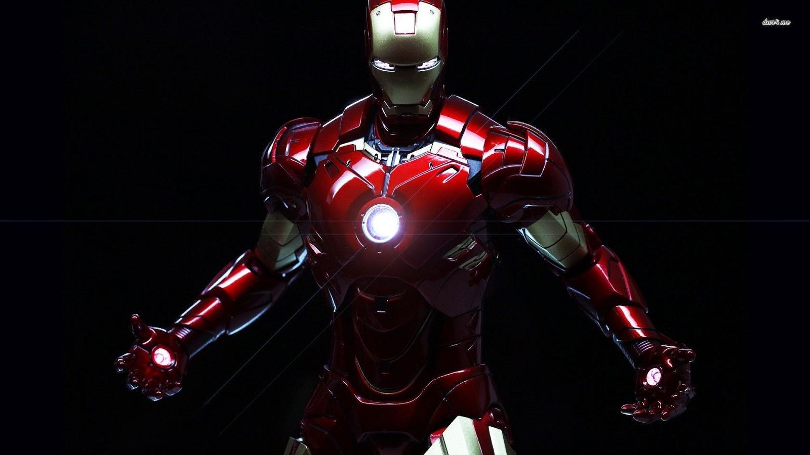 Hinh Nền May Tinh Iron Man 2k 4k 3d