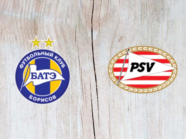 BATE vs PSV Eindhoven - Highlights - 21 August 2018