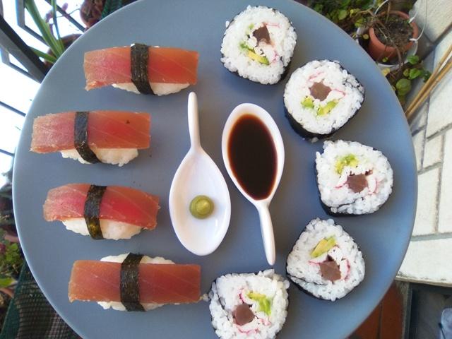 Nigiri Sushi Y Maki Sushi De Atún Rojo... De Lo Más Sencillo!!