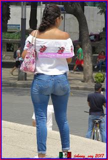 Culona de jeans azules la arrecha part 1 - 2 part 8