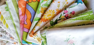 refabulous vintage linens and sheets available in the shop