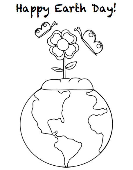 earth day coloring pages 2013 - photo#32