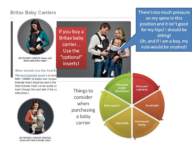 graphic of crotch dangling baby carrier