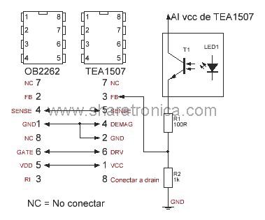 OB2262 por TEA1507.