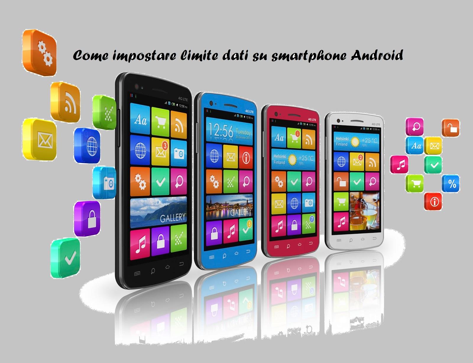 come impostare limite consumo dati smartphone android tutorial. Black Bedroom Furniture Sets. Home Design Ideas