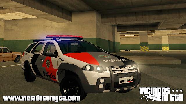 GTA SA - Fiat Palio Weekend Adventure Policia SP