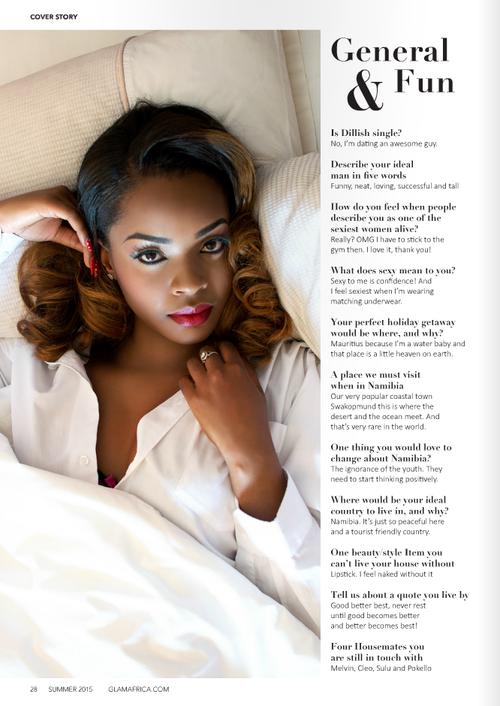 Dillish Mathews Glam Africa