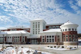 FHS on a sunny day earlier this winter