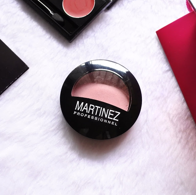 Review Martinez Blush On – Rose Temptation