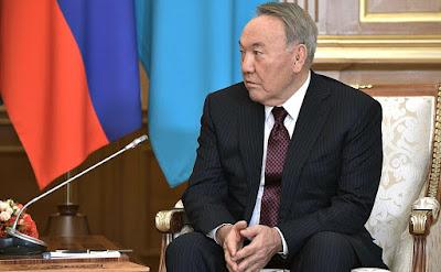 Nursultan Nazarbayev.