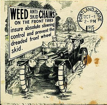 Progress is fine, but it's gone on for too long.: Vanished Tool Makers: Weed  Chain Tire Grip Company, Bridgeport, Connecticut