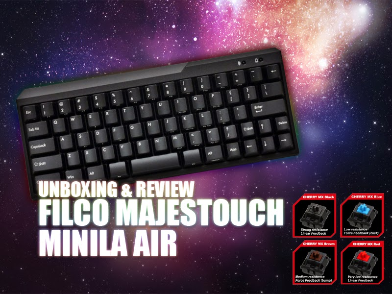 Unboxing & Review: Filco Majestouch Minila Air 35