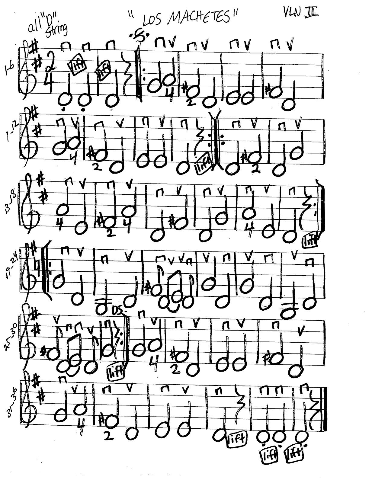 Miss Jacobson S Music Los Machetes Music Worksheets