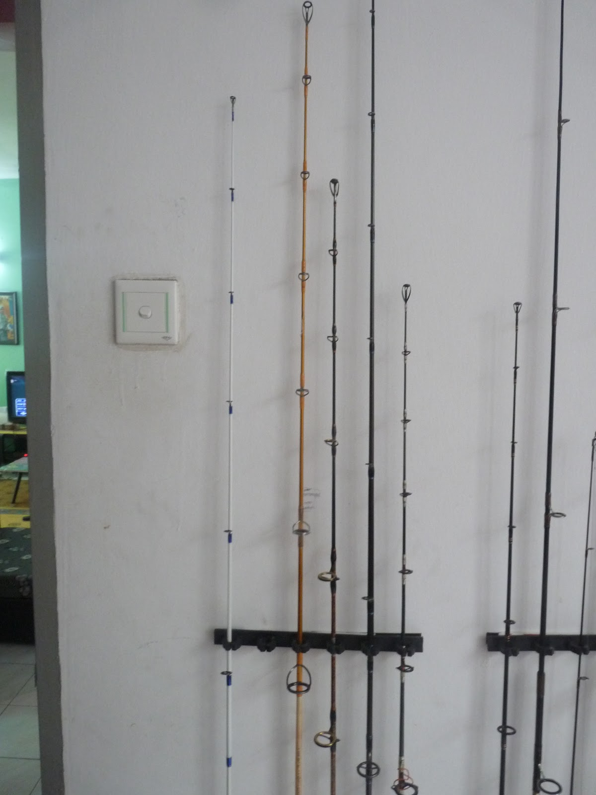 kEdaI PanCinG Online: MY FISHING RODS COLLECTION FOR SALE