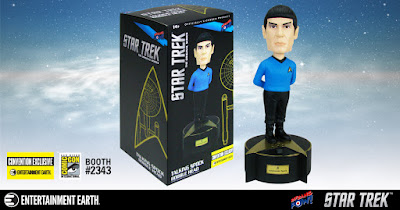 San Diego Comic-Con 2017 Exclusive Star Trek: The Original Series Spock Talking Resin Bobble Head by Bif Bang Pow! x Entertainment Earth