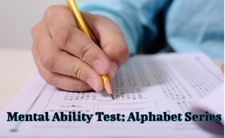 Alphabet Series Reasoning Online Test |Online Mental Ability(MAT) Test | Part-1