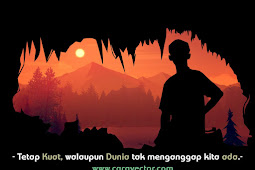 Cara membuat Quotes Siluet Sunset di Infinite Design dan Picsay Pro