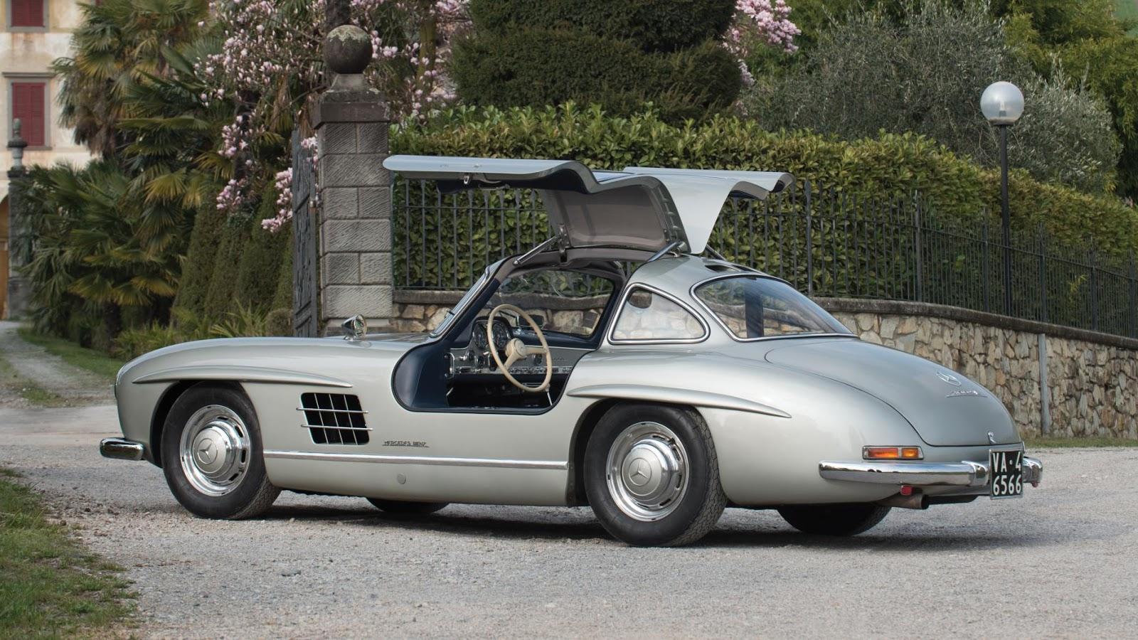 1955 Mercedes-Benz 300 SL Gullwing - £ 971k