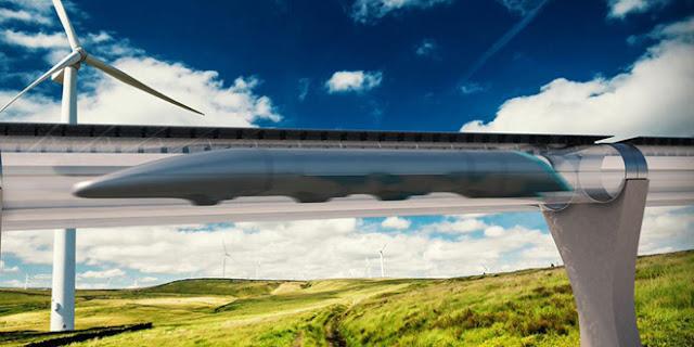Hyperloop có thể đạt tốc độ 1.200 km