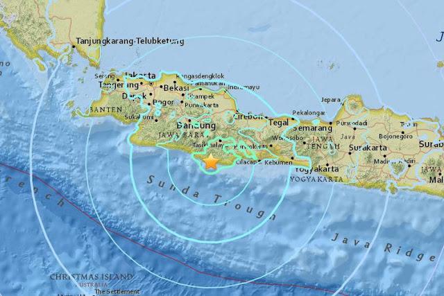 KABAR Terbaru Gempa yang Mengguncang Ciamis dan Sekitarnya