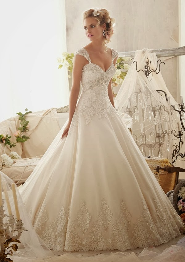 Link Camp Wedding Dress Collection 2014 40 Mori Lee