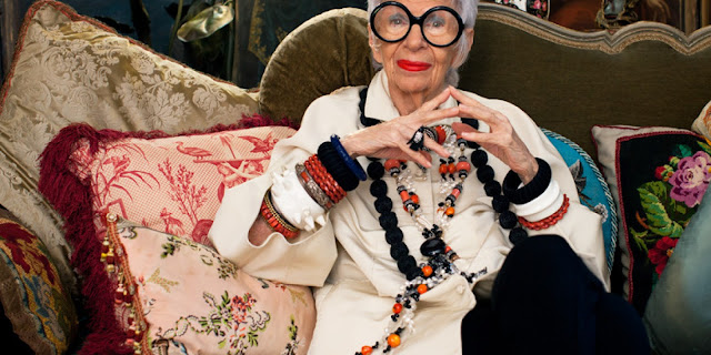Iris Apfel - Cool Chic Style Fashion
