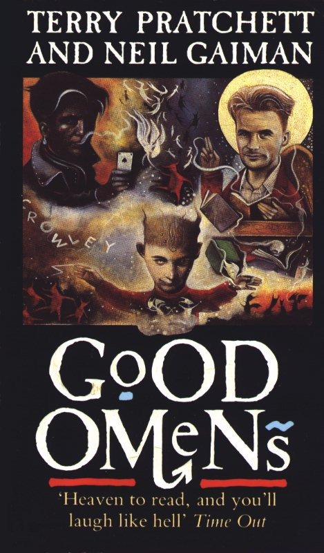 This is my World: #Review: Good Omens by Terry Pratchett and Neil Gaiman